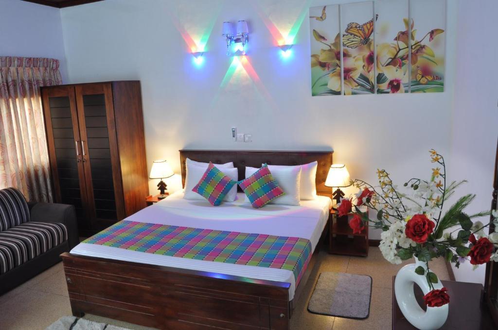 Cama o camas de una habitación en Guest Ryan