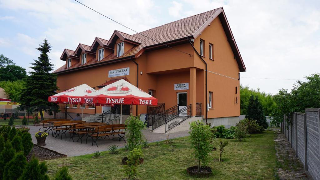 Jardín al aire libre en Wisełka