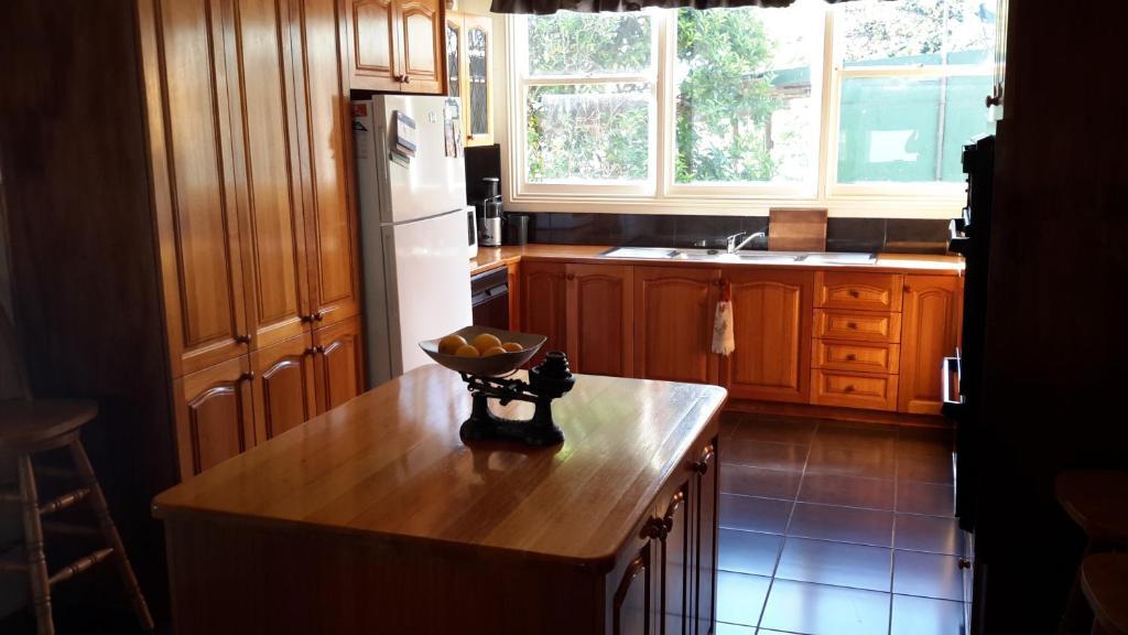 A kitchen or kitchenette at Linbridgeford