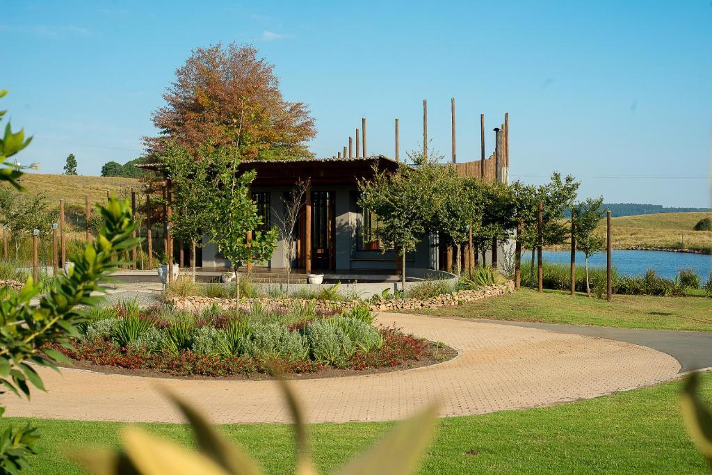A garden outside Brahman Hills Weddings, Events, Hotel & Spa