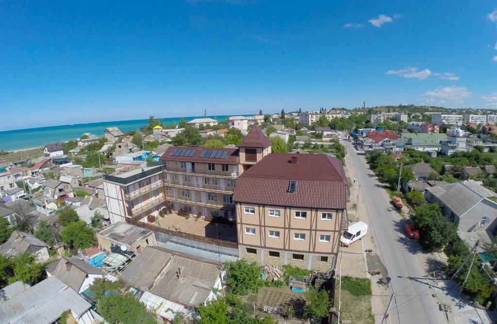 Hotel Olymp in Lubimovka с высоты птичьего полета