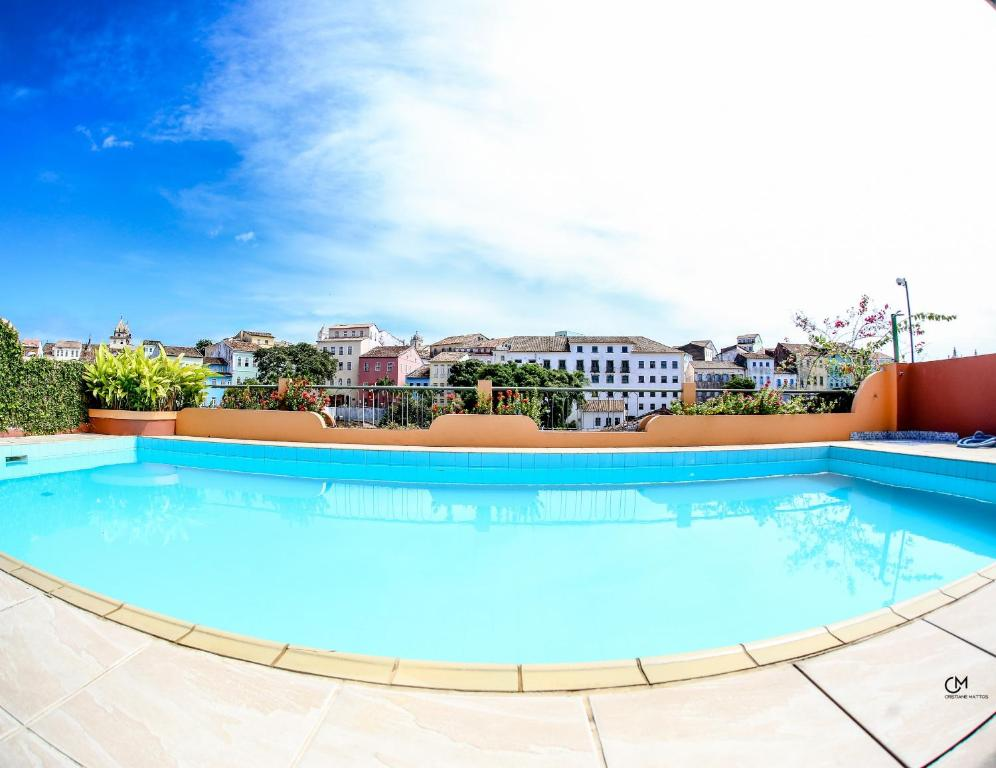 The swimming pool at or near Hotel Pousada da Mangueira