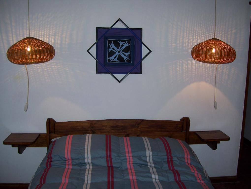 Una habitación de Casa Abedules de los Andes
