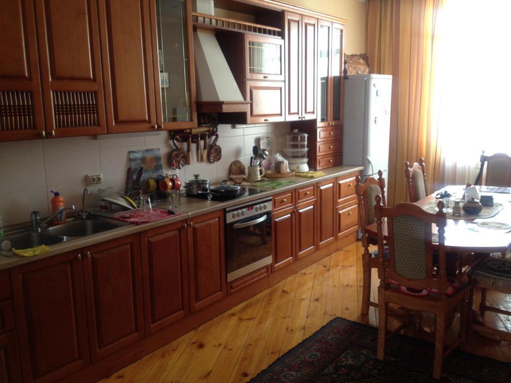 Dapur atau dapur kecil di Guest House Vostochny