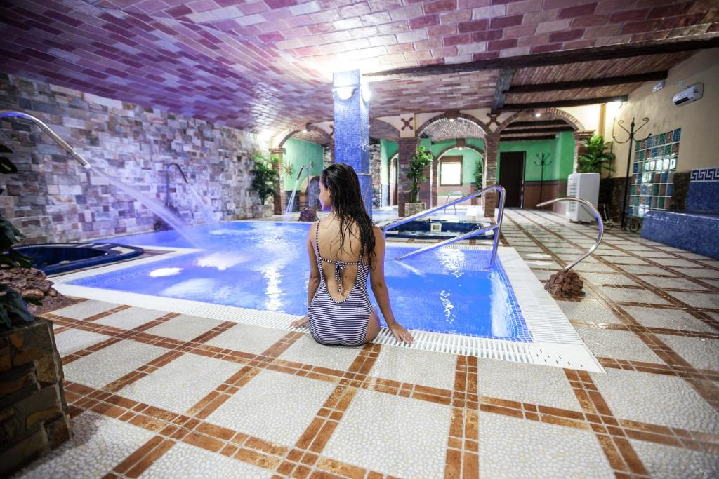 The swimming pool at or near Alojamientos Rurales Benarum