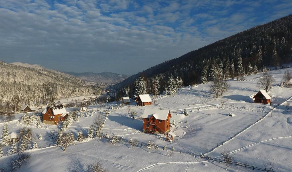 Kozichky Guest House зимой