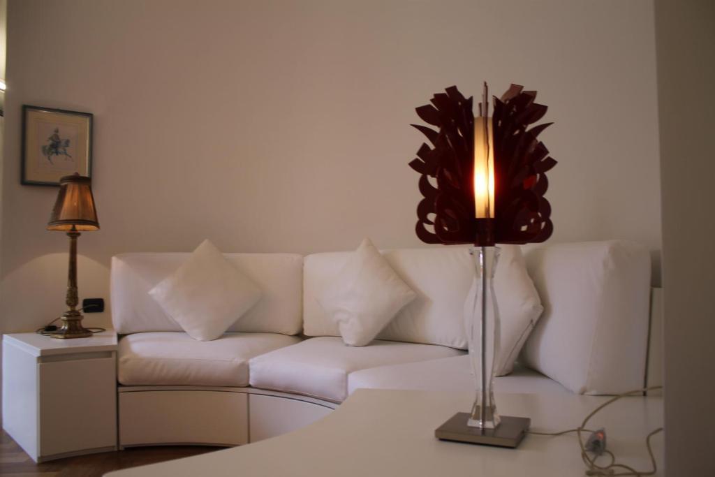 אזור ישיבה ב-Easy Apartment Navigli