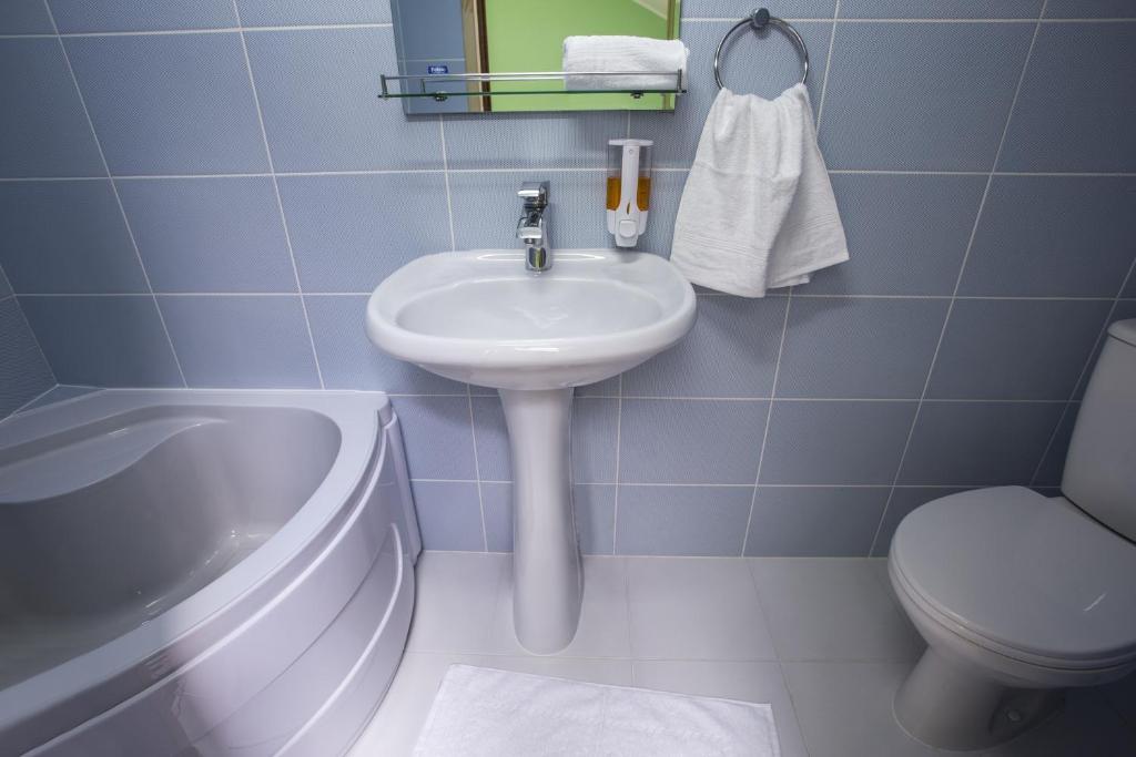 Ванная комната в Жемчужина Балтики