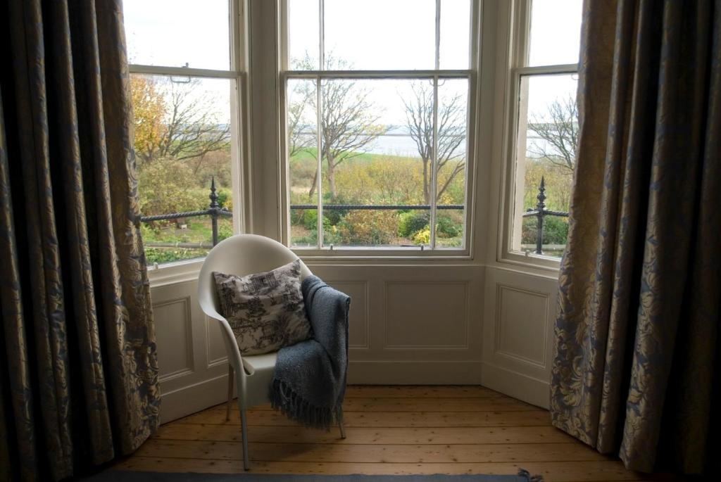 منطقة جلوس في Collingwood House Tynemouth