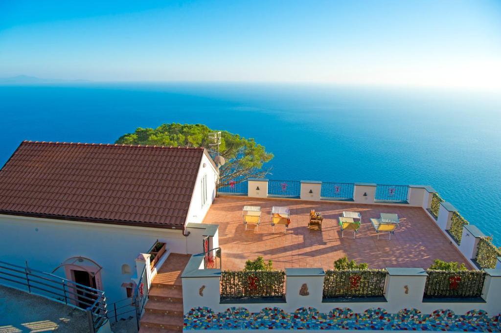A bird's-eye view of Residence Calipso