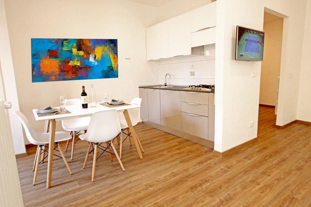 Een keuken of kitchenette bij Domus Fernanda