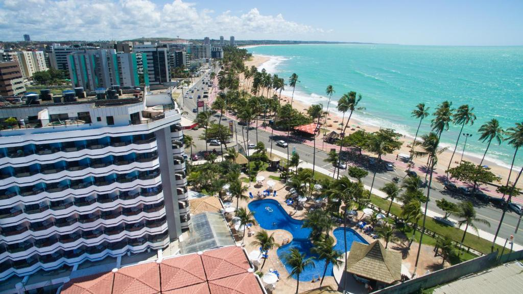 A bird's-eye view of Maceió Atlantic Suites