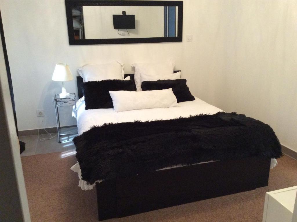 Un ou plusieurs lits dans un hébergement de l'établissement La Maison d'Estelle