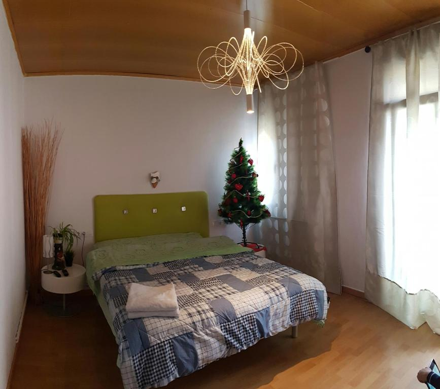 Кровать или кровати в номере Zimaleto Barcelona