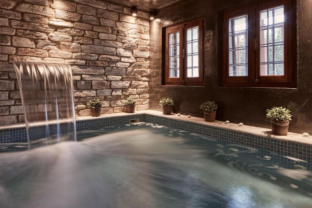 Hotel Dryades And Spa Agios Lavrentios Greece Booking Com