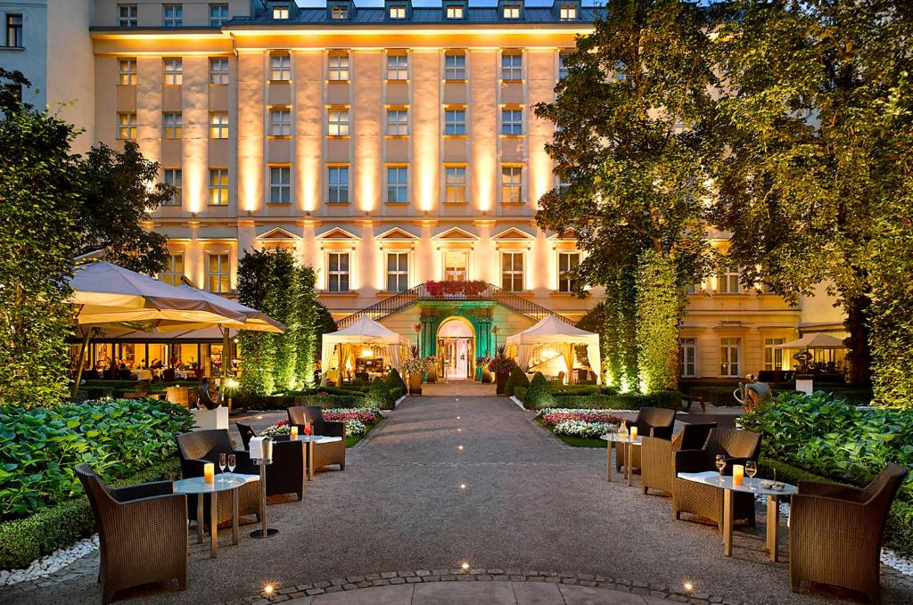 A restaurant or other place to eat at The Grand Mark Prague - The Leading Hotels of the World