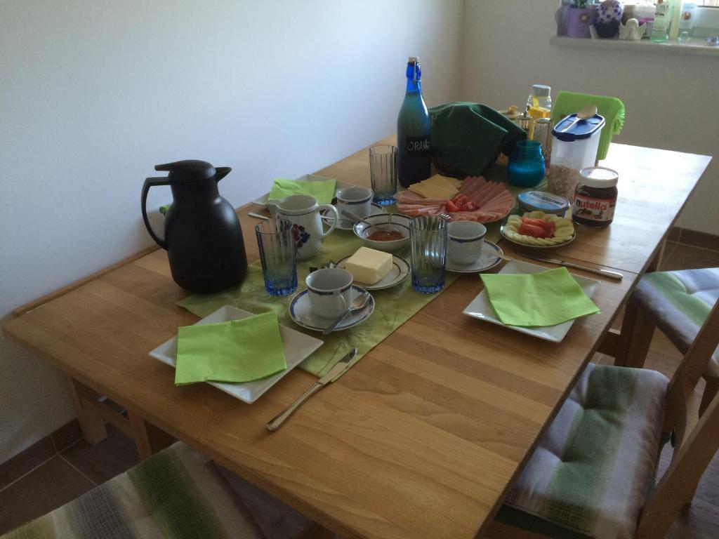 Frühstücksoptionen für Gäste der Unterkunft Gästezimmer Wohlmuth