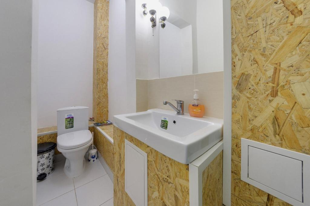 Ванная комната в Хостел Централь