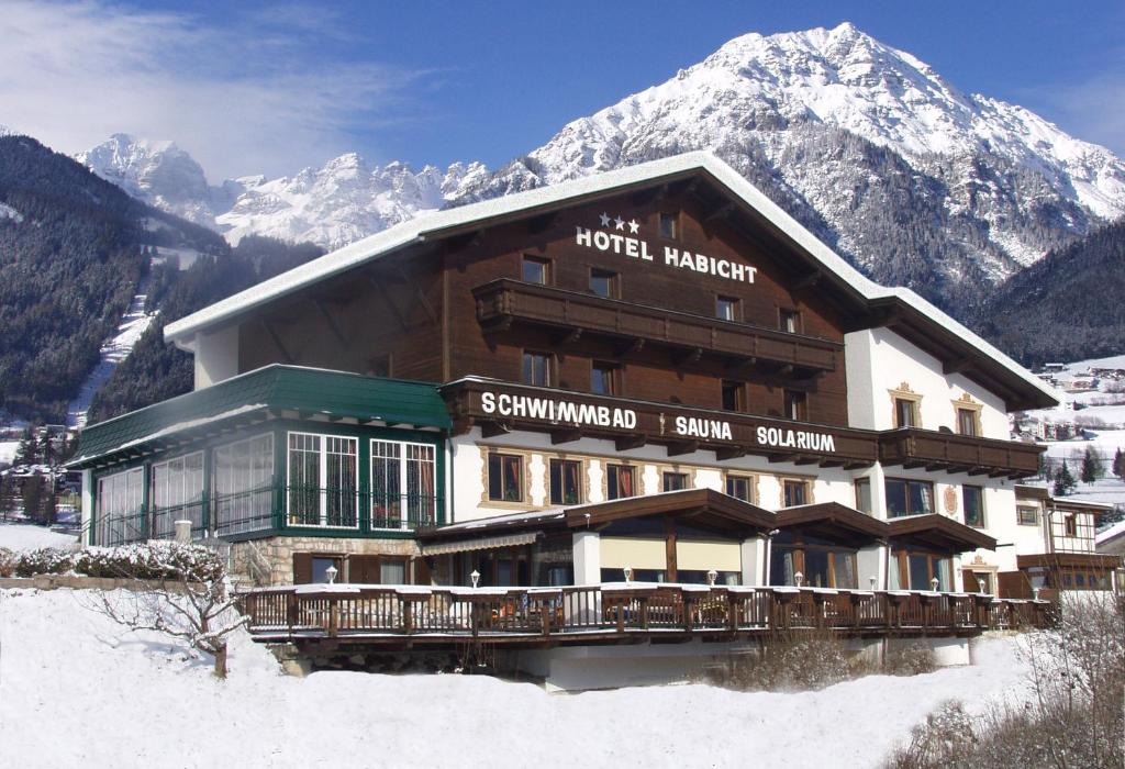 Hotel Habicht during the winter