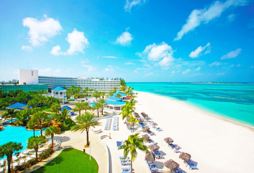 A view of the pool at Meliá Nassau Beach – All Inclusive or nearby