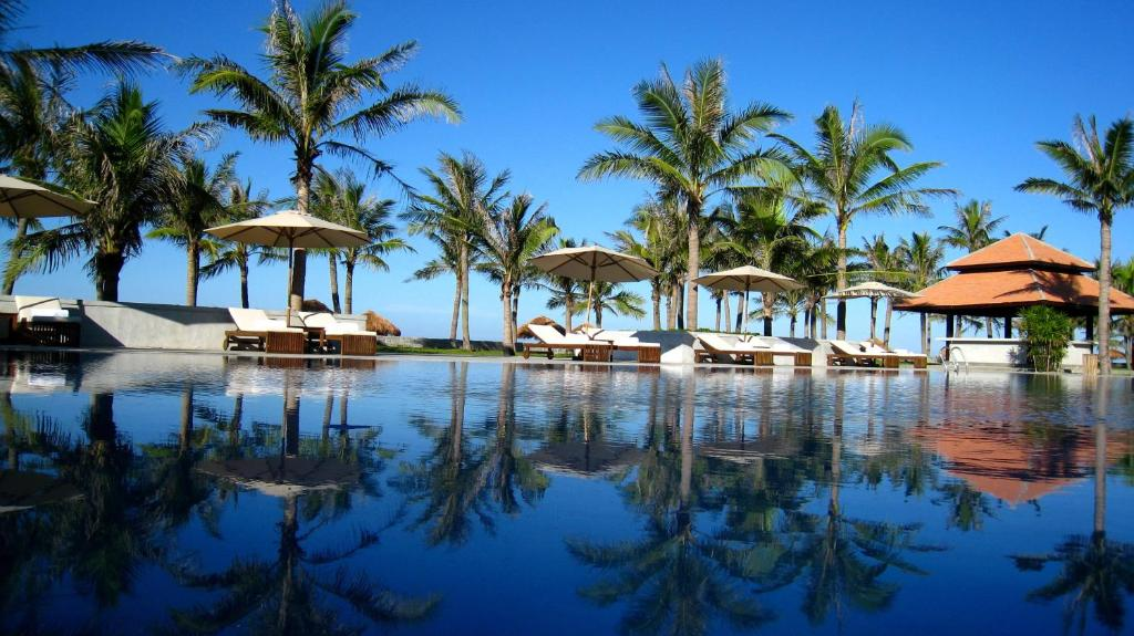 The swimming pool at or close to Lapochine Beach Resort (formerly Ana Mandara Hue)