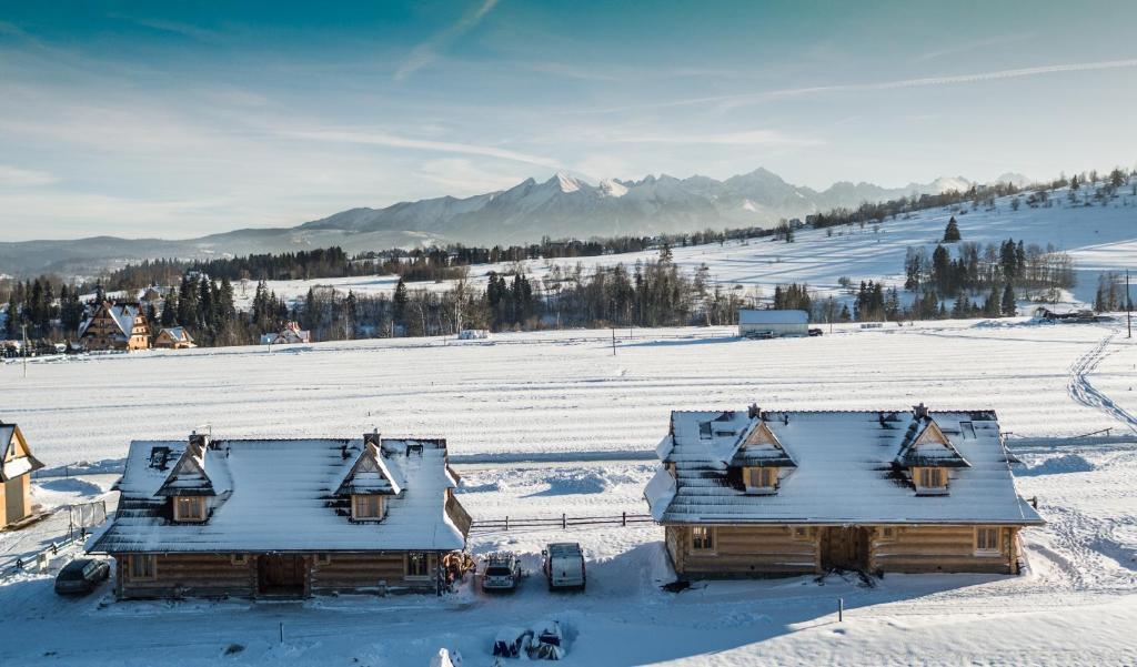 Obiekt Sun&Ski Maciejówka zimą
