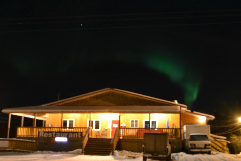 O edifício onde o alojamento de turismo selvagem está situado