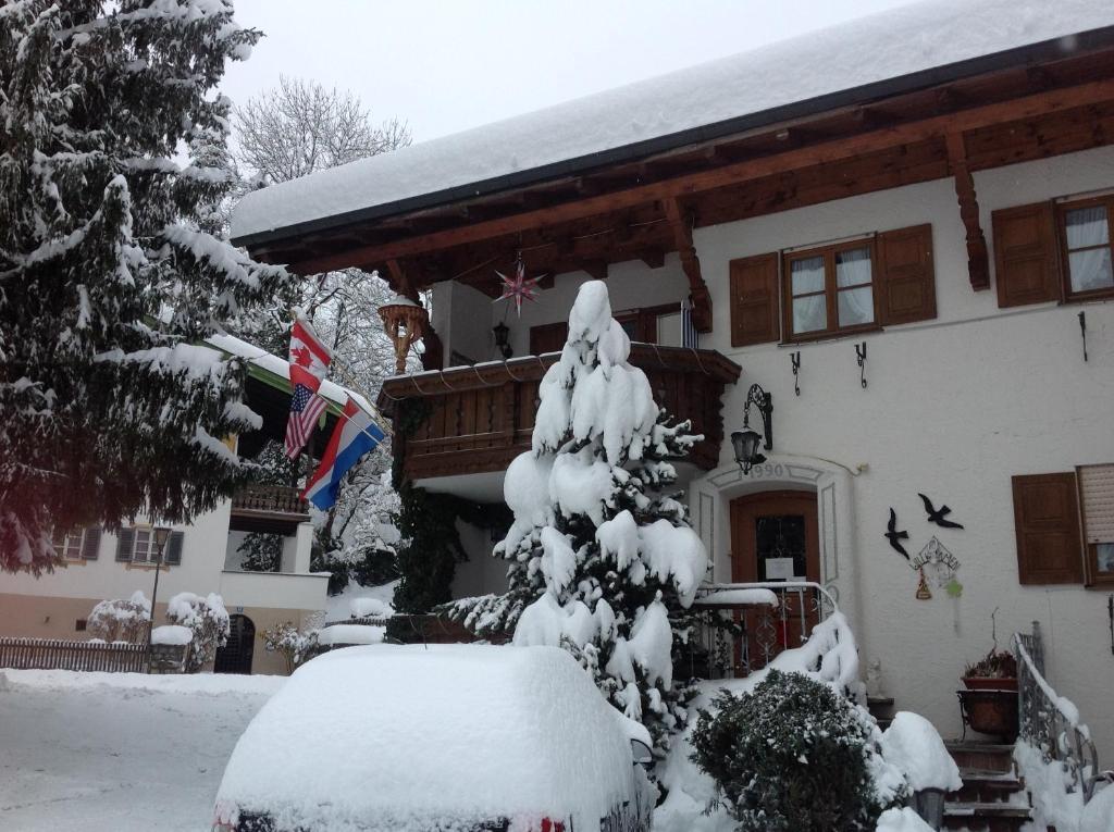 L'établissement Apartements Ingrid Unhoch-Raggl en hiver