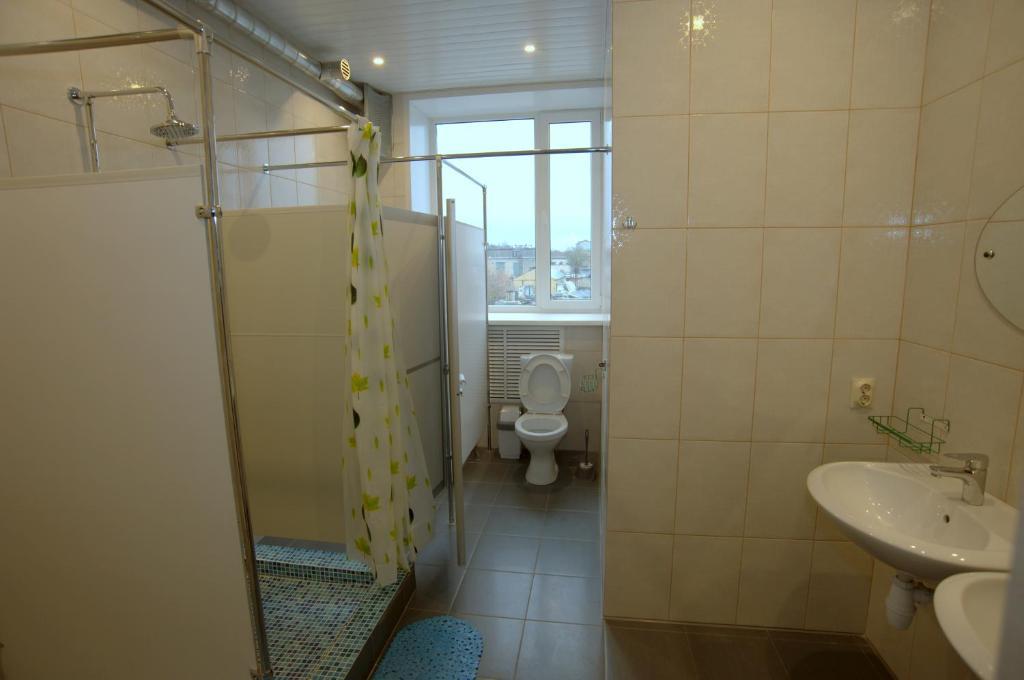 Ванная комната в Хостел В Городе N