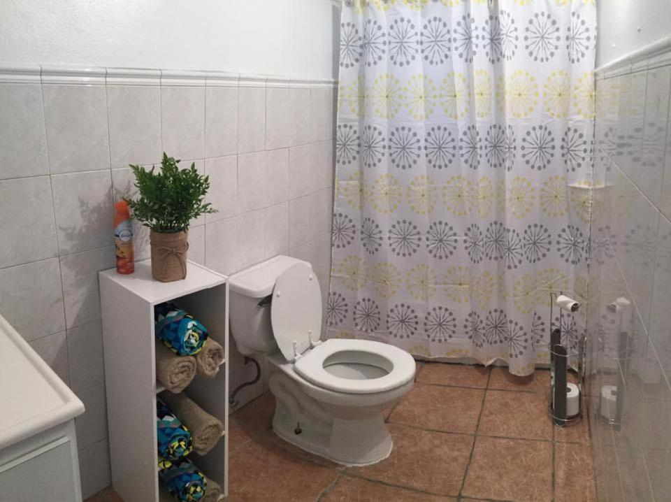 A bathroom at The Coral Keys