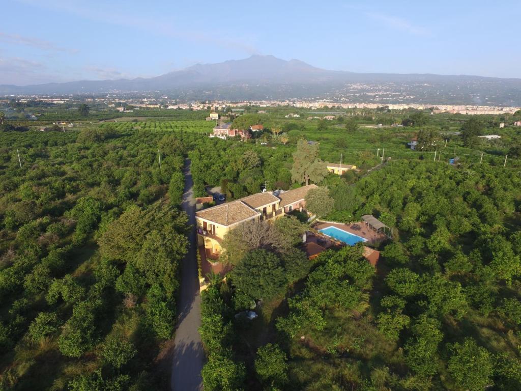 A bird's-eye view of La Terra Del Mezzo