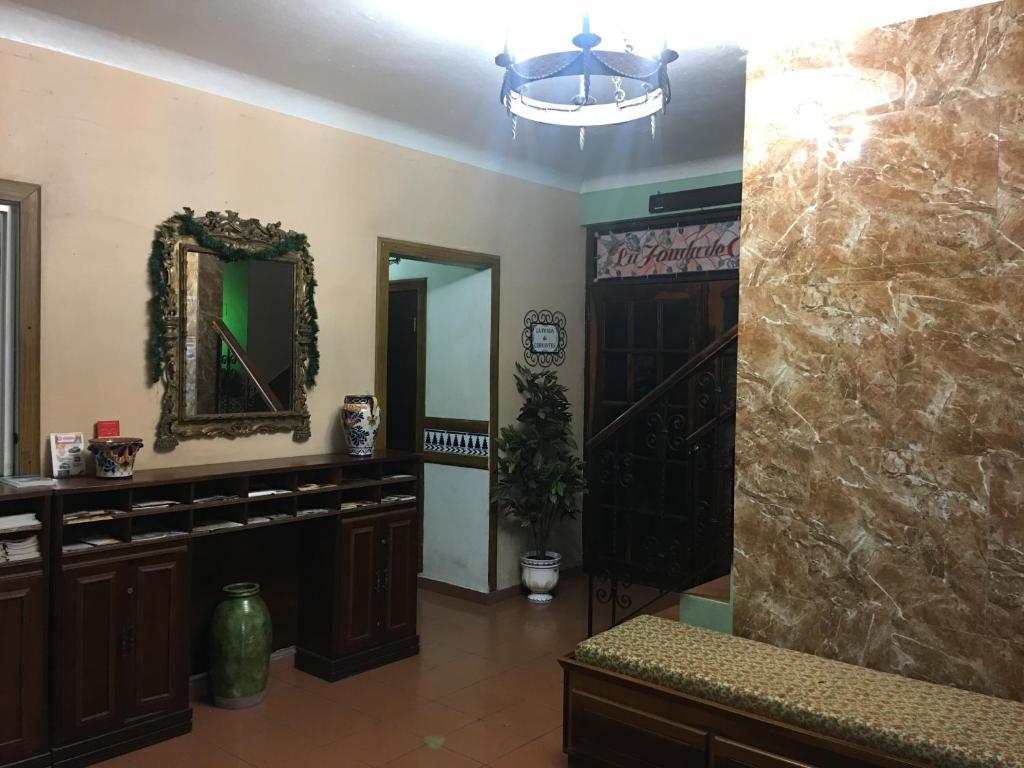 A bathroom at Hotel Iberia - San Juan