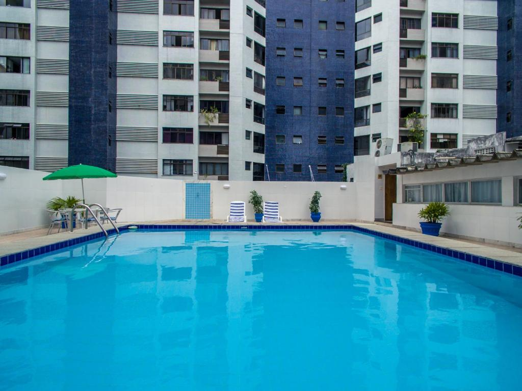 The swimming pool at or near Hotel Vila Velha