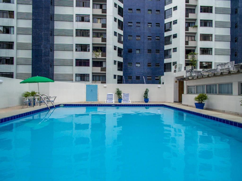 A piscina localizada em Hotel Vila Velha ou nos arredores