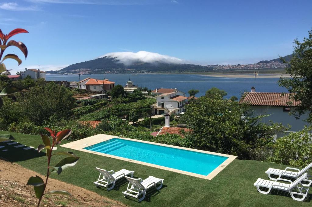 A view of the pool at aMaRe Country House or nearby