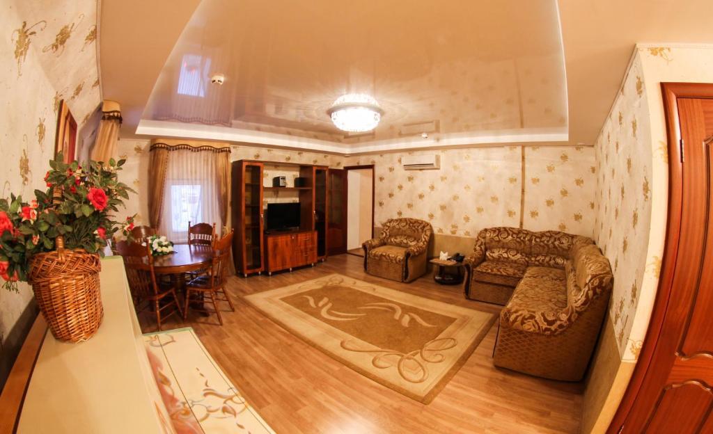 Гостиная зона в Отель «Астерия»