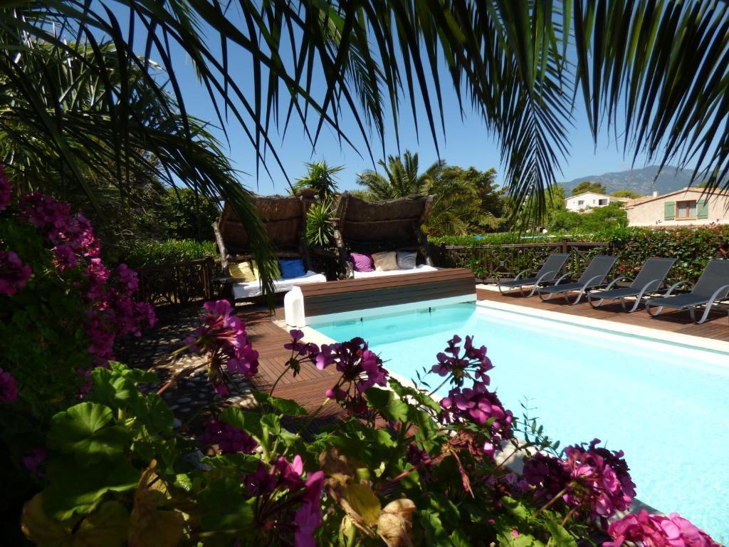 The swimming pool at or near Casa Di Cavalone