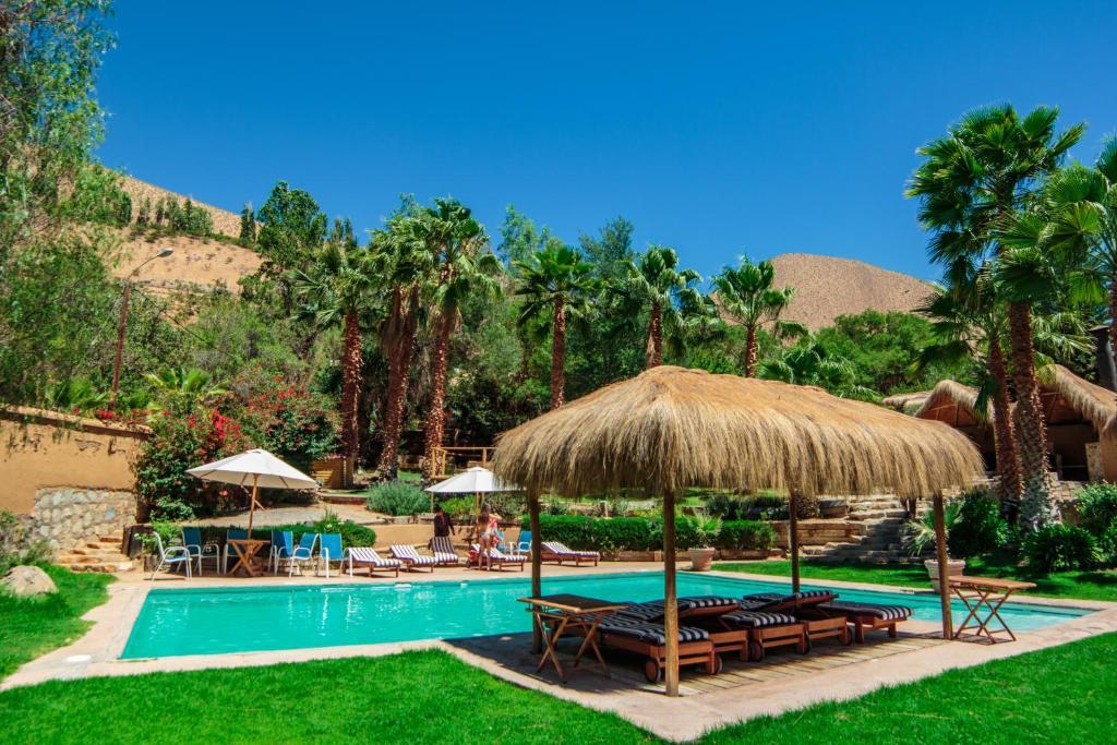 Πισίνα στο ή κοντά στο Refugio Misterios del Elqui