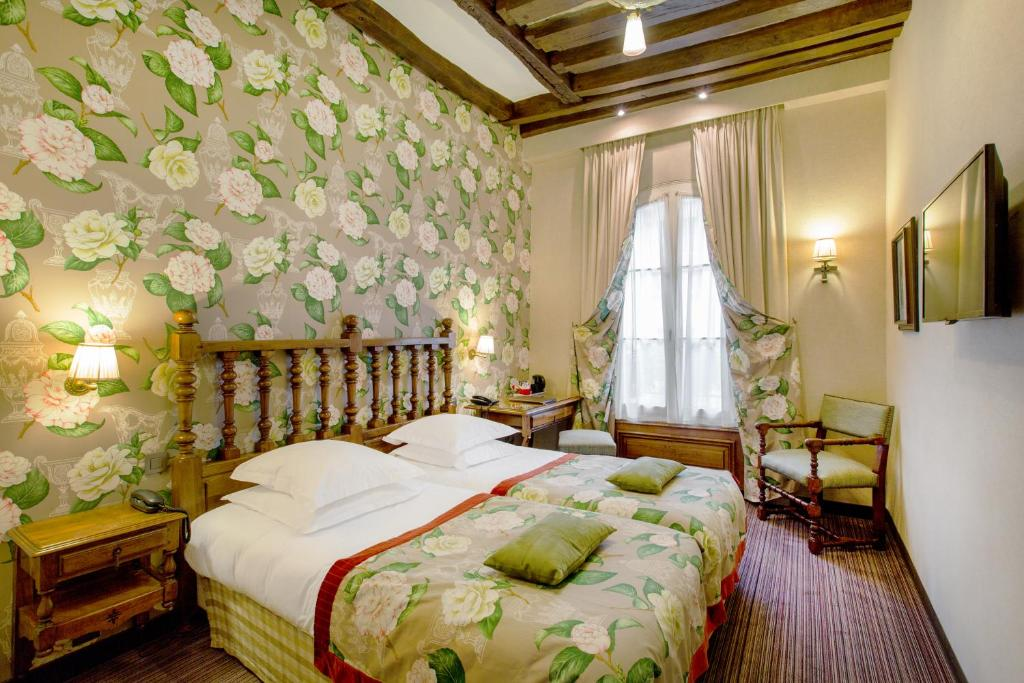Остров Сите: Hotel Left Bank Saint Germain