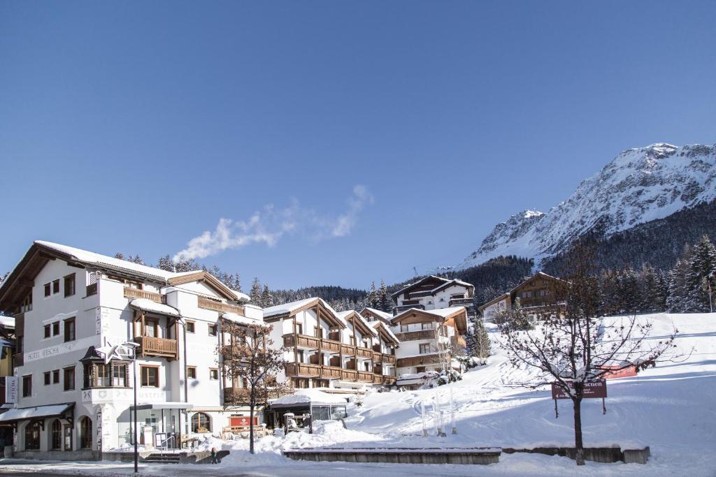 Hotel Spescha im Winter