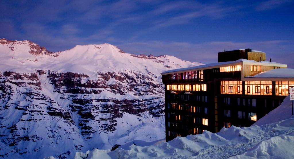 Hotel Tres Puntas durante o inverno