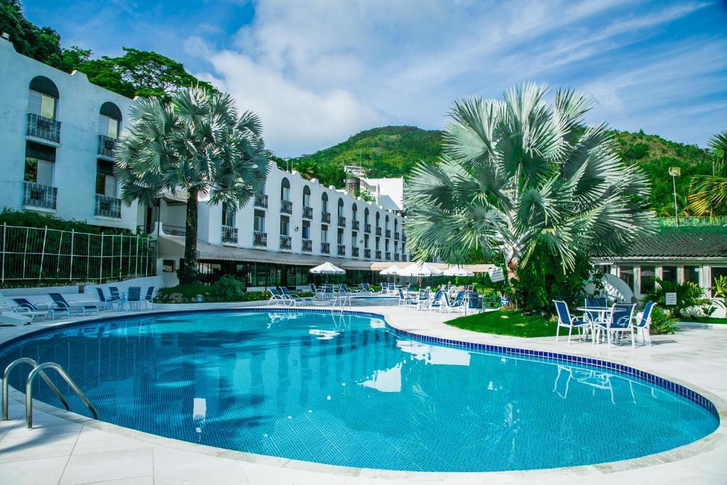 Swimmingpoolen hos eller tæt på Wembley Inn Hotel