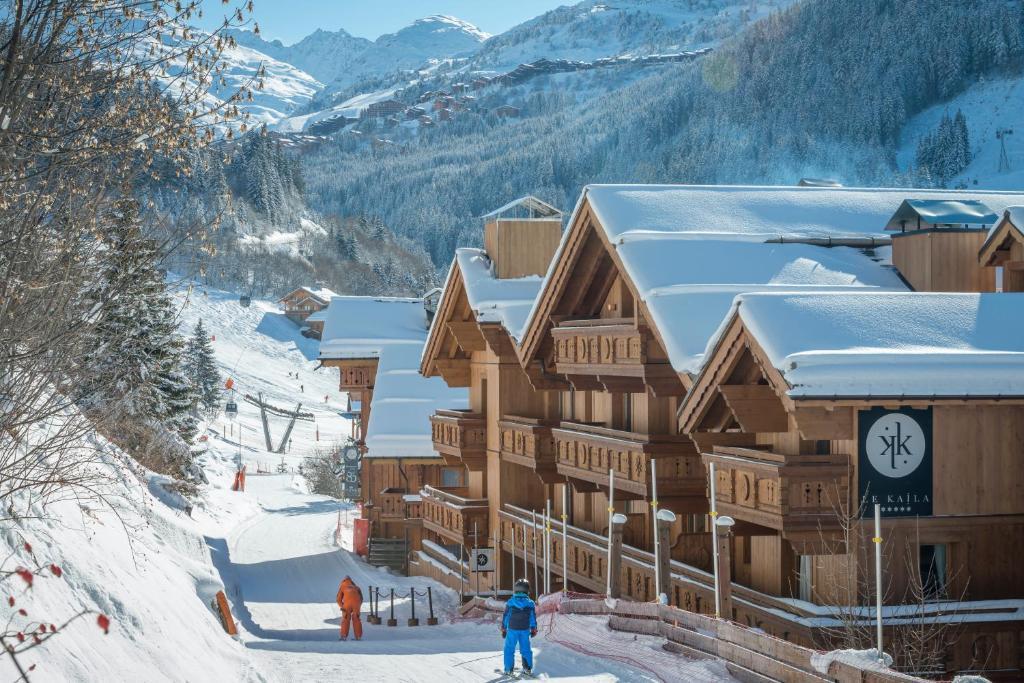 Le Kaïla during the winter