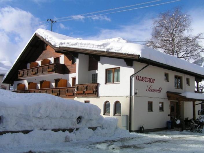Gasthof Seewald in de winter