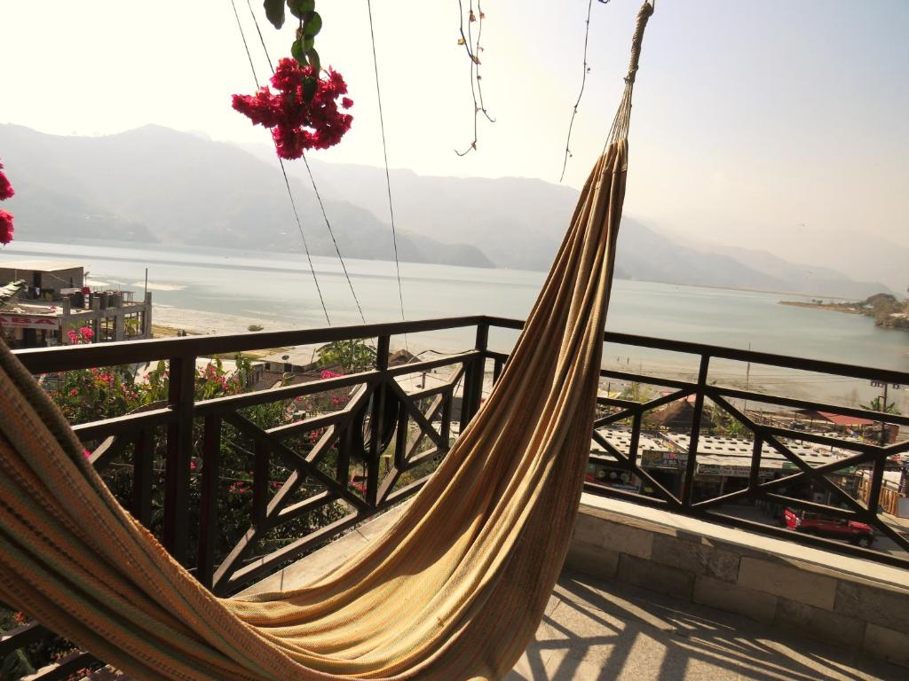A balcony or terrace at Lake Vision Guesthouse