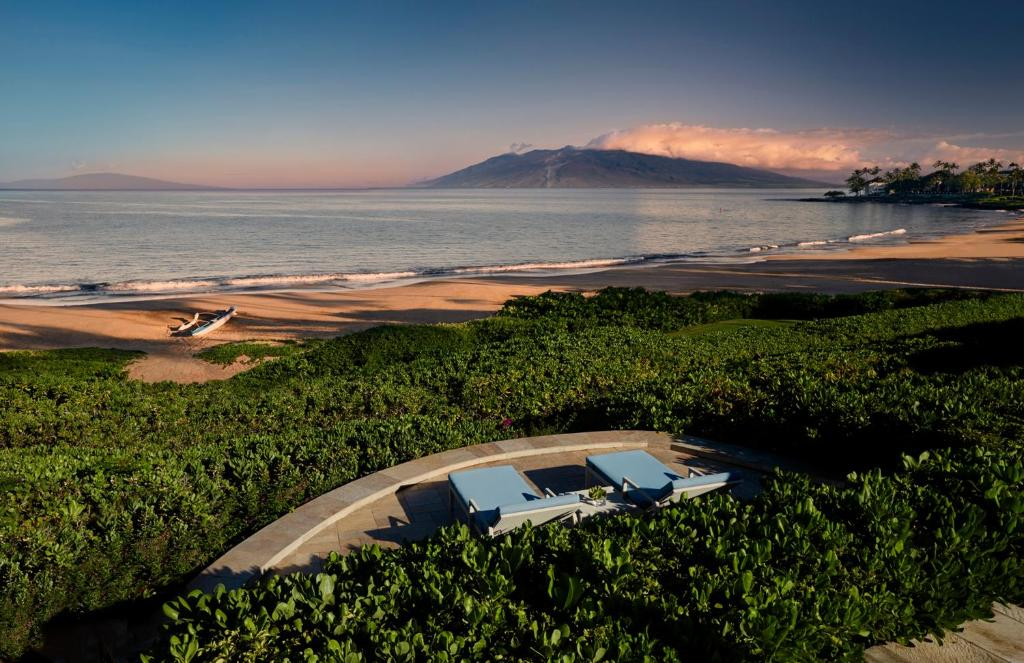 A bird's-eye view of Four Seasons Resort Maui at Wailea
