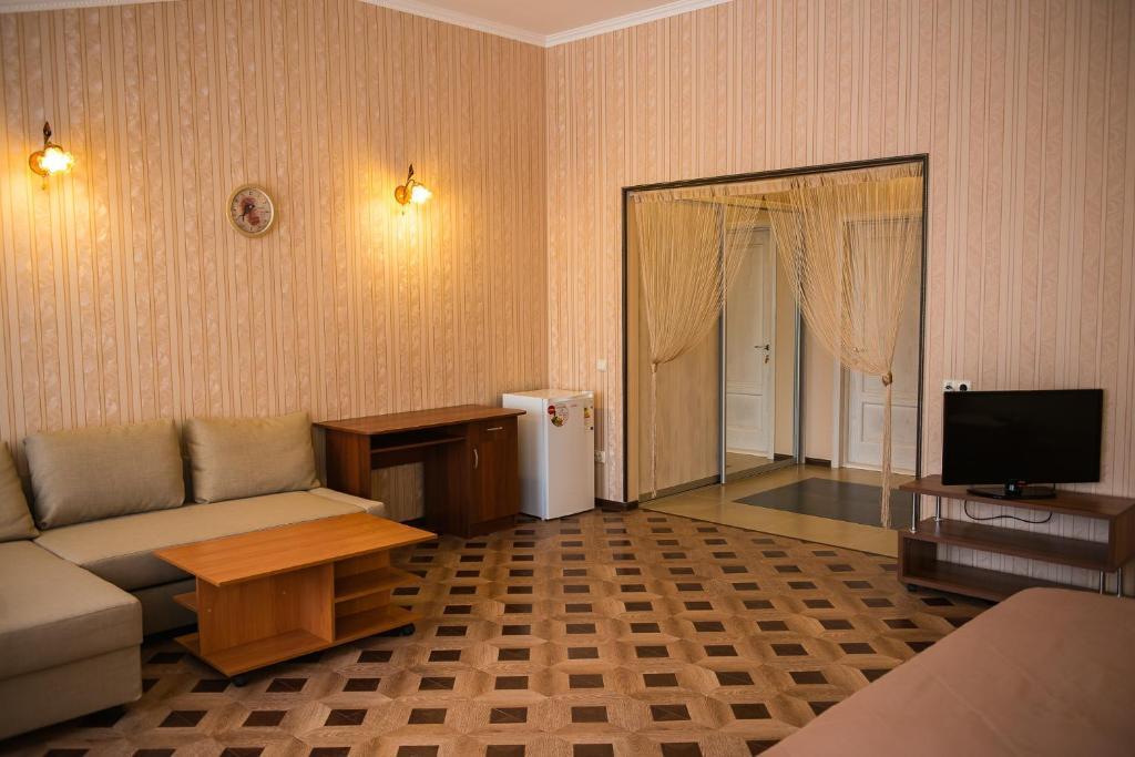 Гостиная зона в Гостевой дом Bellagio