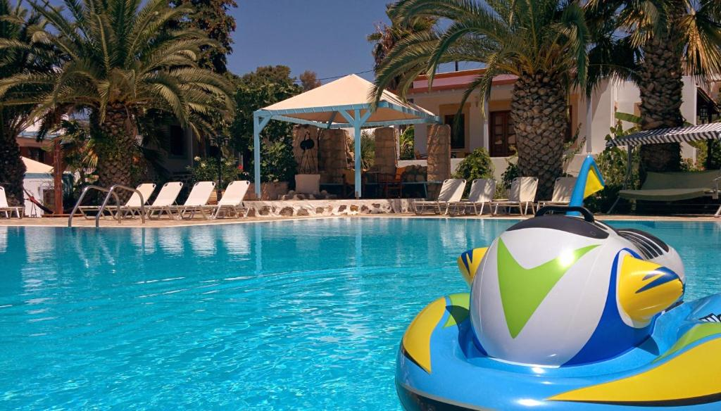 The swimming pool at or near Patmos Garden
