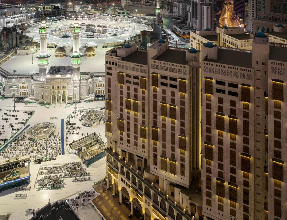 A bird's-eye view of Makkah Towers