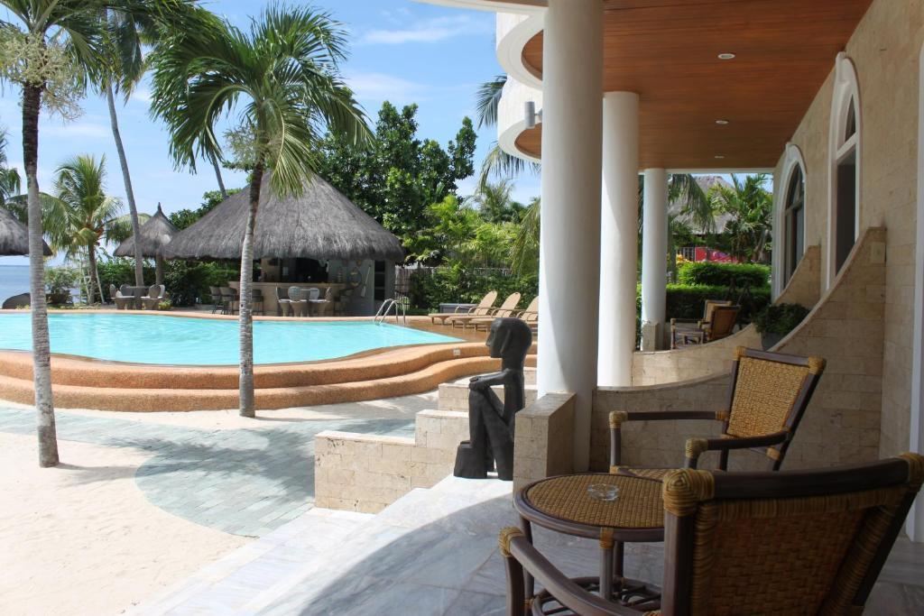 Piscina en o cerca de Linaw Beach Resort